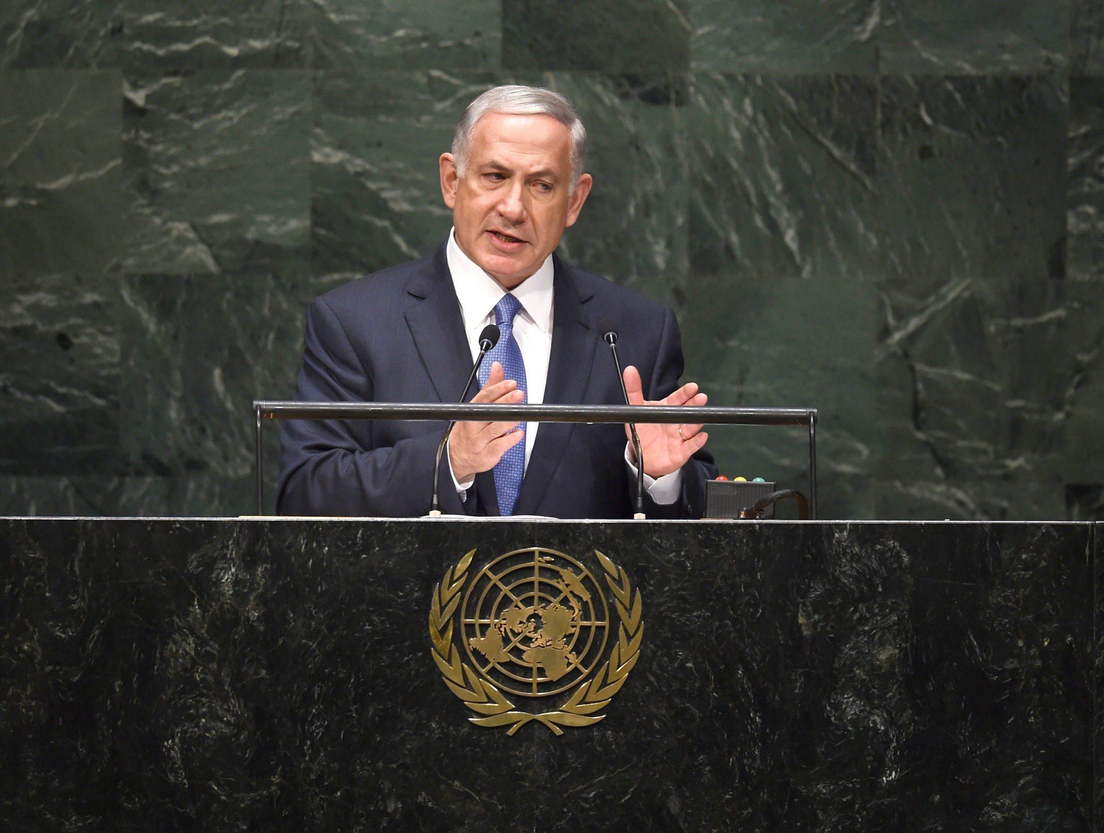 نتانياهو أمام الجمعية العامة: الشراكة مع العالم العربي تقود لاتفاق إسرائيلي فلسطيني