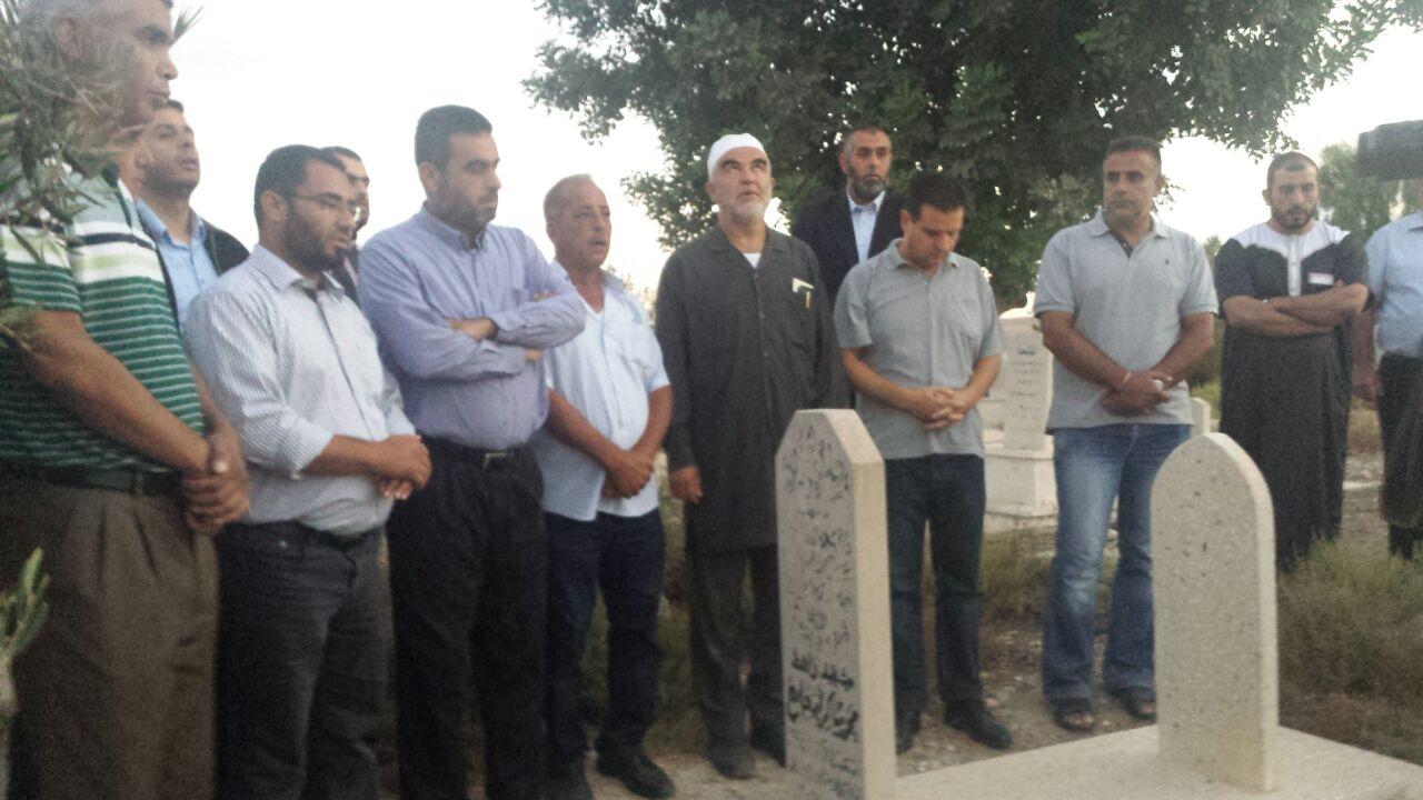 """النقب:انطلاق مسيرة """"الوفاء للشهداء"""" إحياء لهبة القدس والأقصى"""