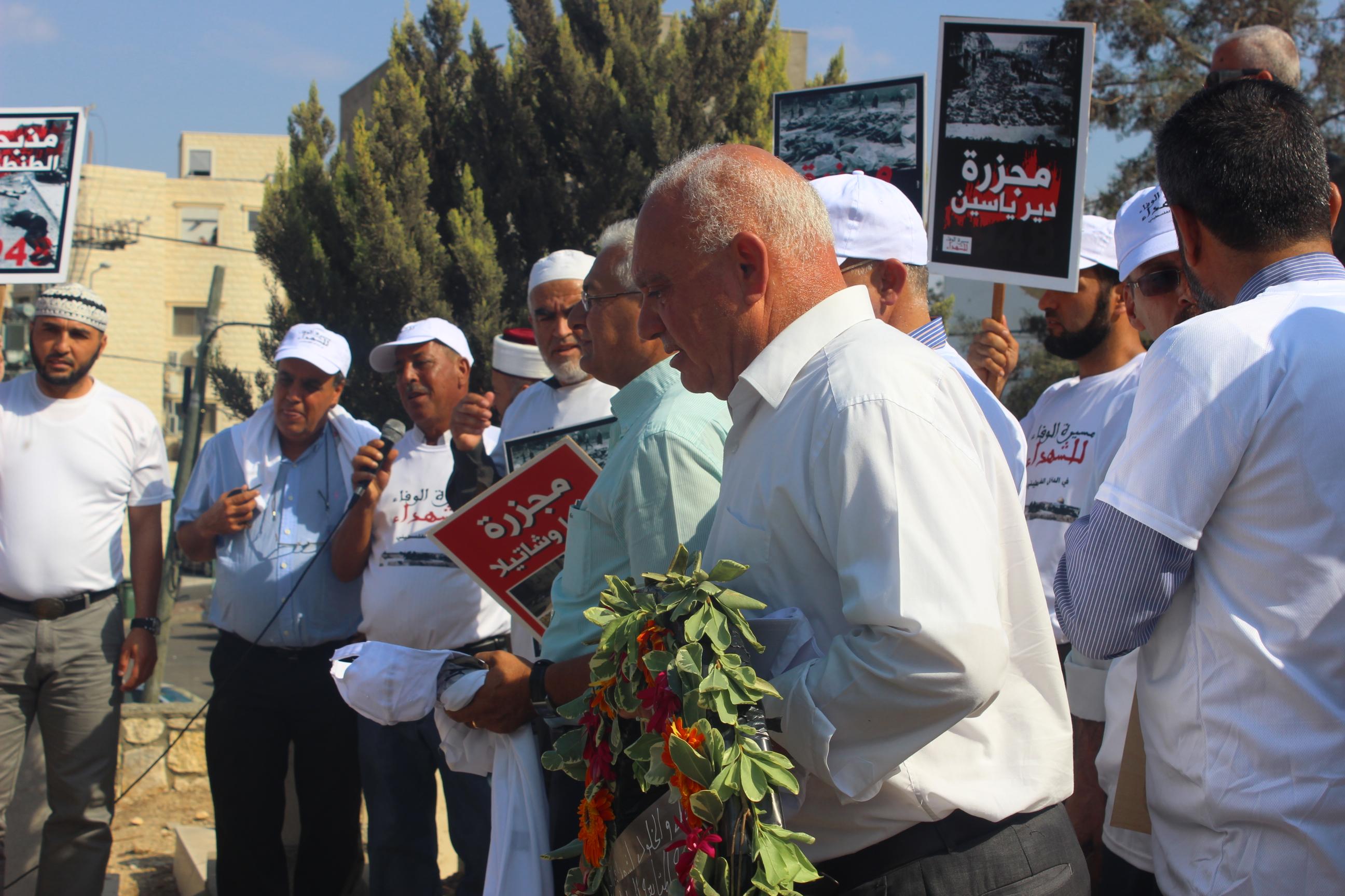 سخنين :تتويج  مراسم إحياء ذكرى هبة القدس والأقصى بمسيرة مركزية ومهرجان خطابي