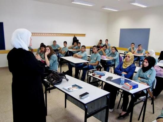"""باقة الغربية: ابن سينا تحيي """"هبة القدس والأقصى"""" باستضافة وفد من ذوي الشهداء"""