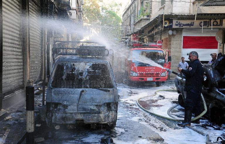 ''يوميات قذيفة هاون'' صفحة على فيسبوك تحصي القذائف على دمشق