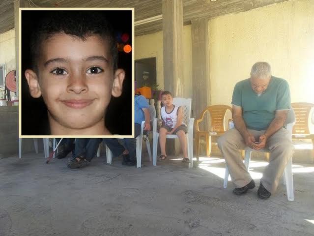 معاوية تشيع جنازة الطفل أحمد محاميد الذي غرق في طابا