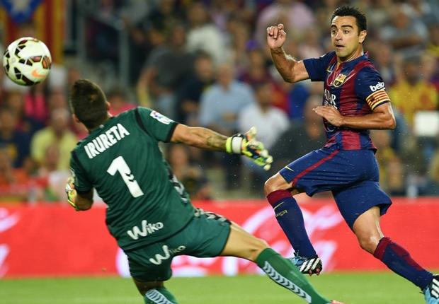 (فيديو) برشلونة تفوز على إيبار بثلاثية نظيفة بالدوري الإسباني