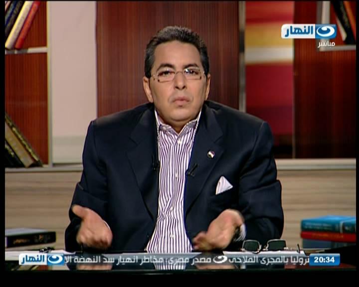 """منع محمود سعد من الظهور على """"النهار"""" لنشره صورة للسيسي"""