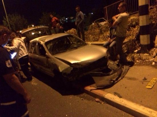 ثمانية إصابات متفاوتة من الناصرة ودير حنا والمغار بحوادث طرق