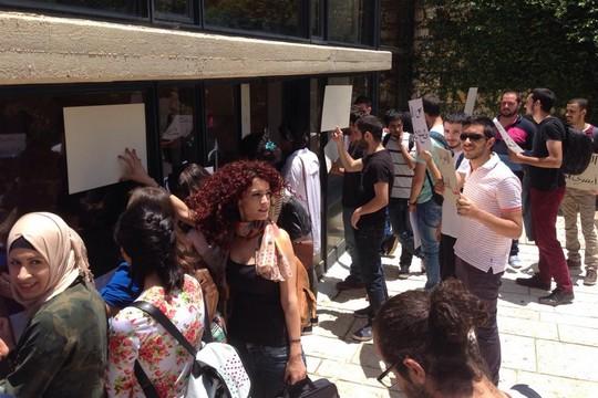 عريضة ضد تقديم 12 طالبًا للجنة الطاعة في الجامعة العبرية