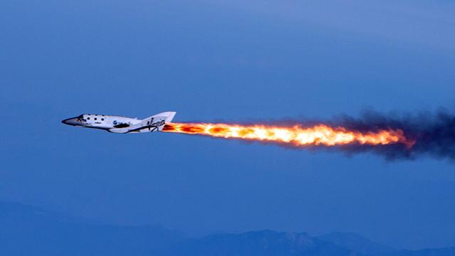 انفجار مركبة فضائية كانت ستقل سياحًا للفضاء في المستقبل