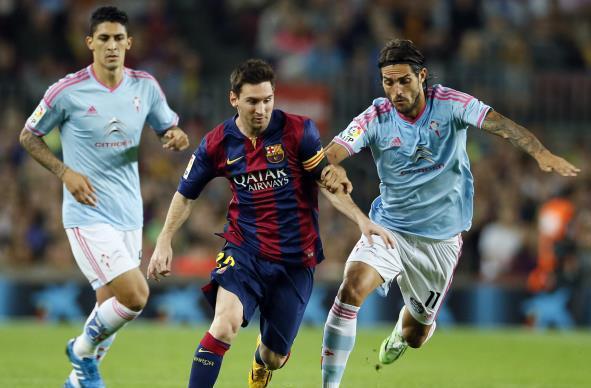 (فيديو) سيلتا فيغو يعمق جراح برشلونة ويفوز 1-0