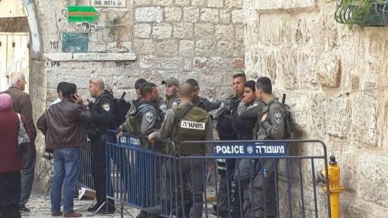 الاحتلال يفرض طوقا عسكريا على القدس القديمة والأقصى (فيديو)