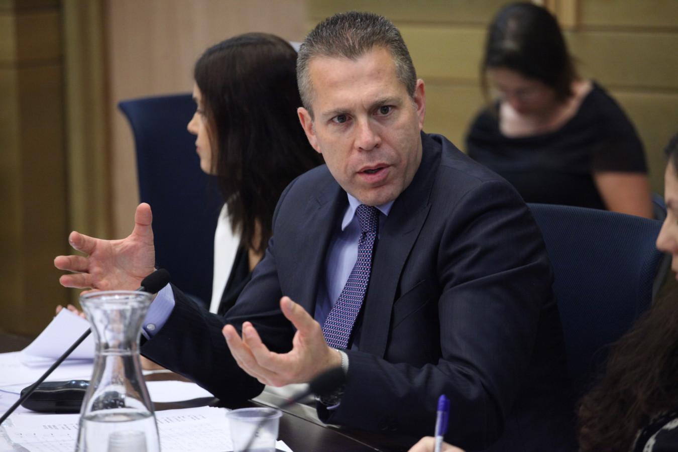 تعيين غلعاد إردان وزيرا للداخلية الإسرائيلية
