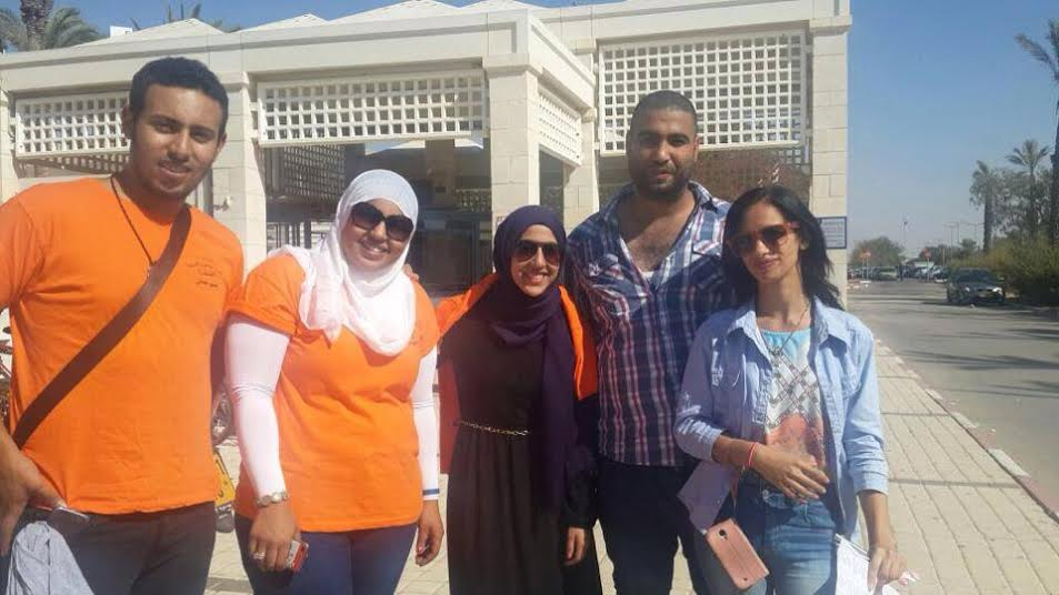 """""""بالعربي أحلى"""" فعالية التجمع الطلابي الأولى في جامعة بئر السبع"""