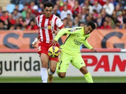 (فيديو) برشلونة تعود لمسار الانتصارات بفوز على ألميريا