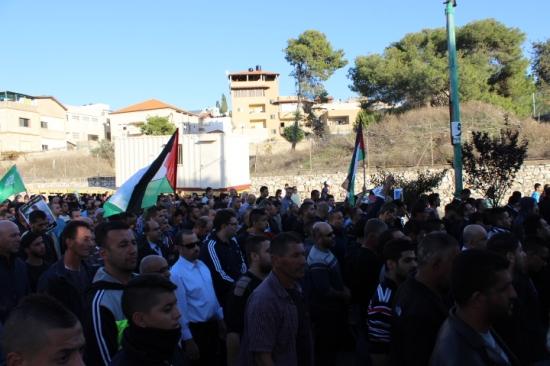 """""""ضبط النفس تجاه العرب مؤشر على قيادة إسرائيلية جبانة"""""""