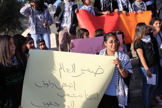الناصرة: حراك لمئات الطلاب تنديدا بعنف الشرطة وقتل حمدان