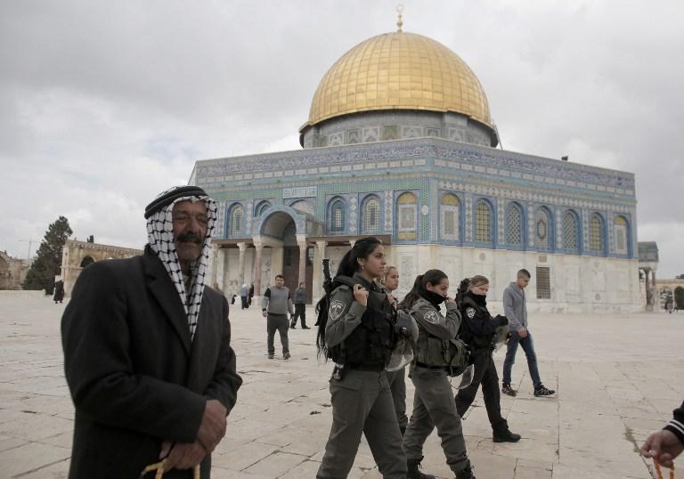 الشرطة الإسرائيلية تطلب من أعضاء اليمين الامتناع عن «زيارة» الأقصى