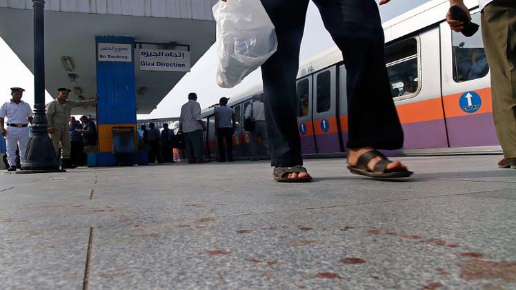 سبعة جرحى في تفجير استهدف مترو الأنفاق في القاهرة