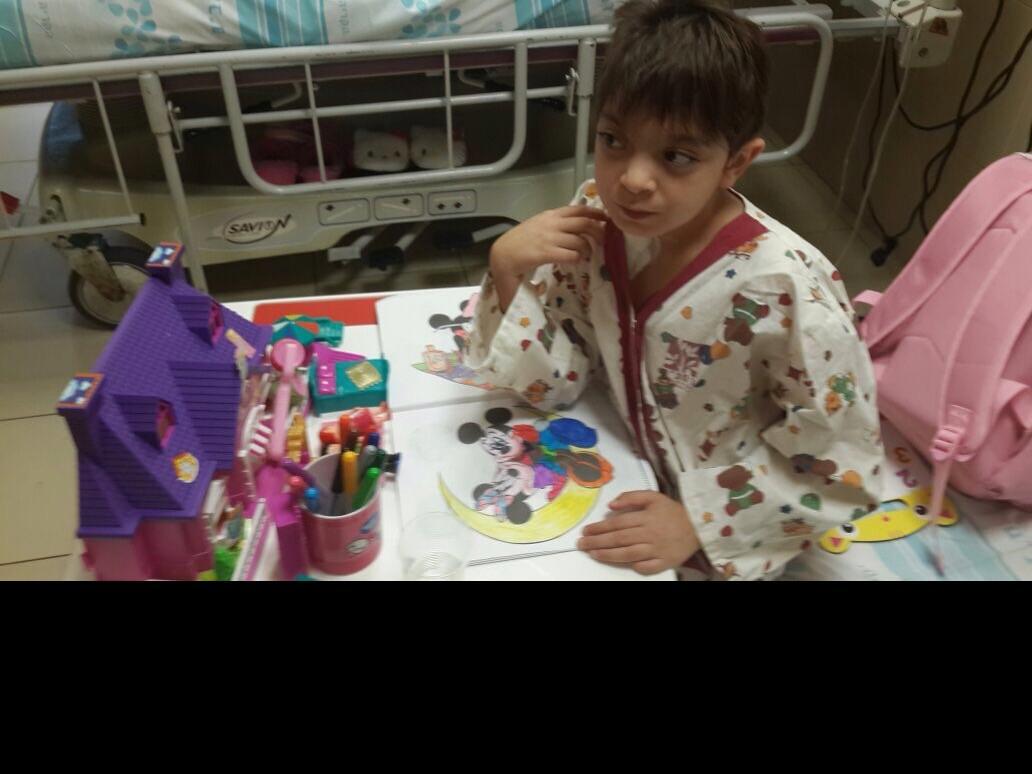 المكر: الطفلة راما عبد الله بحاجة ماسة لمتبرعين بالدم