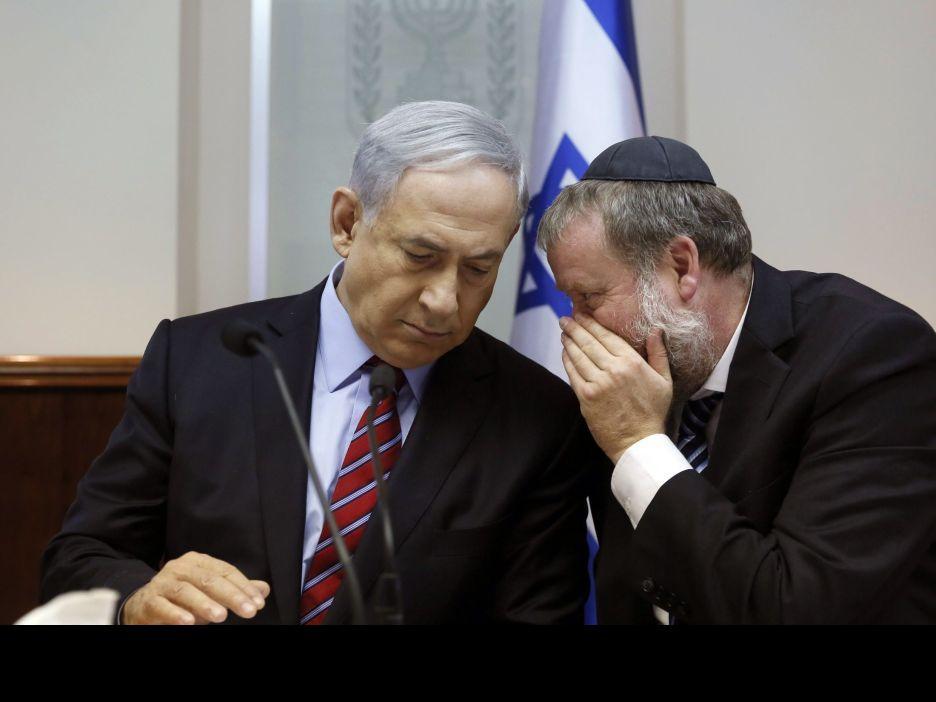 """نتانياهو ينوي تمرير قانون أساس """"يهودية الدولة"""" الأحد"""