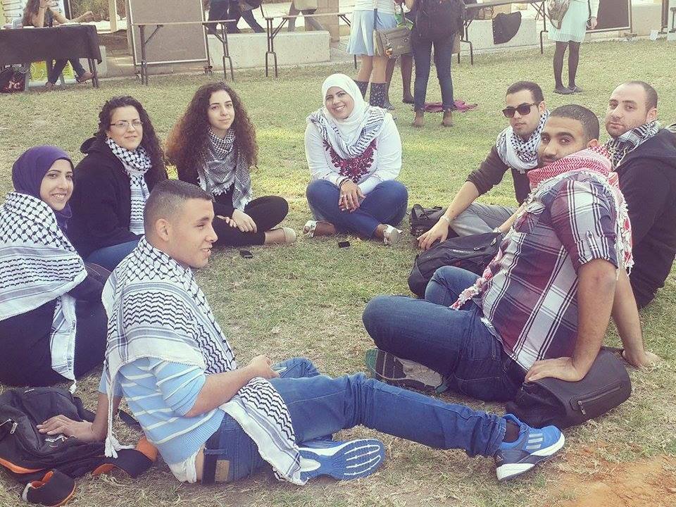 بئر السبع: التجمع الطلابي يبدأ نشاط أيام الكوفية في الجامعة
