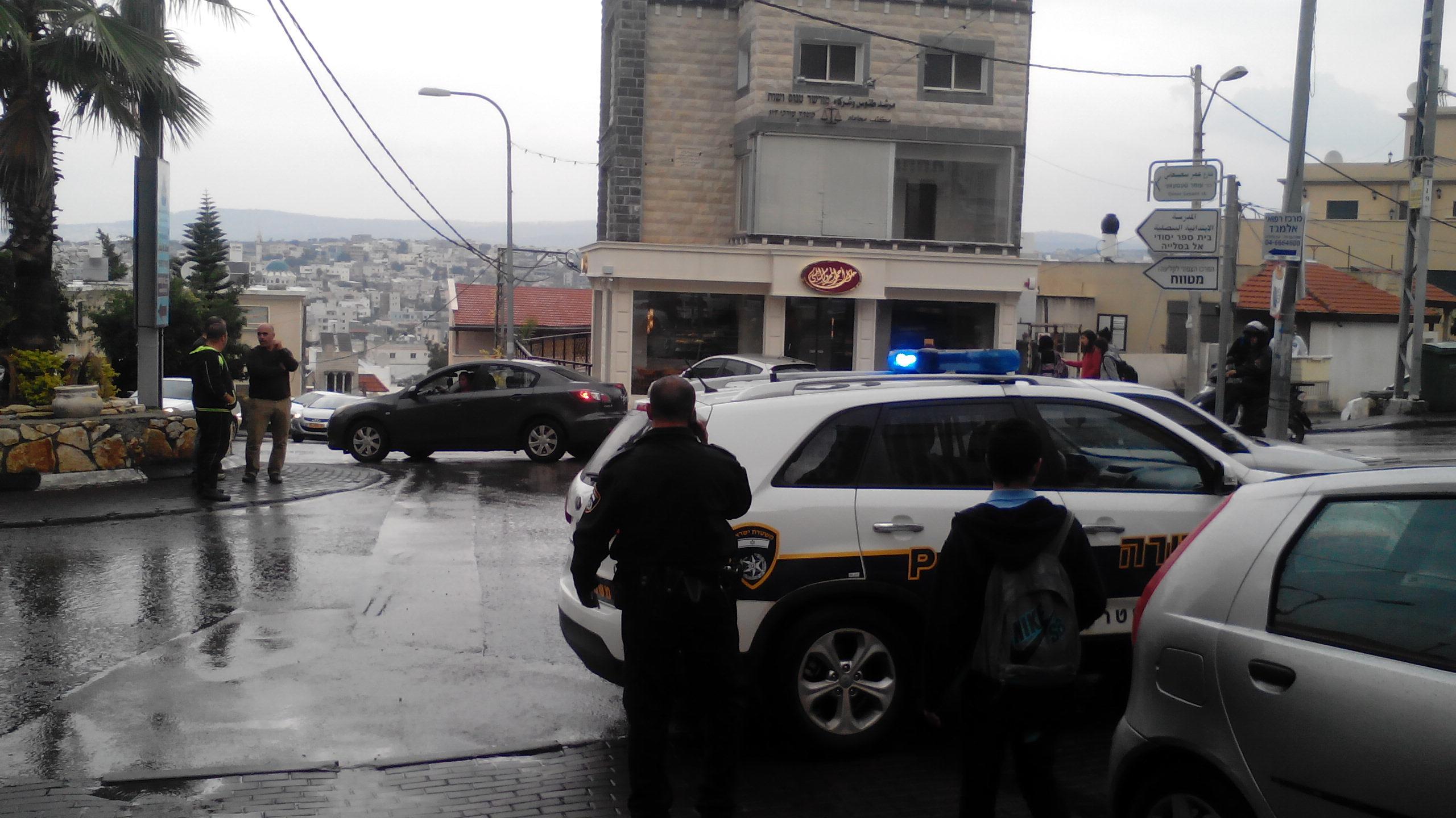إصابة مواطن من منطقة شفاعمرو أثر إطلاق رصاص عليه