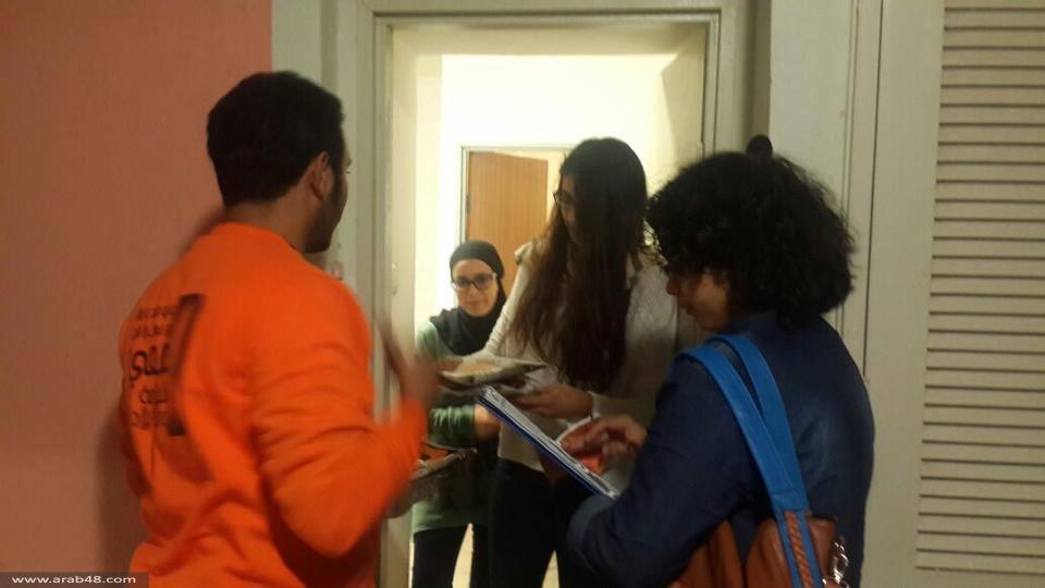 بئر السبع: التجمع الطلّابي يستمر بفعاليّاته داخل أروقة الجامعة