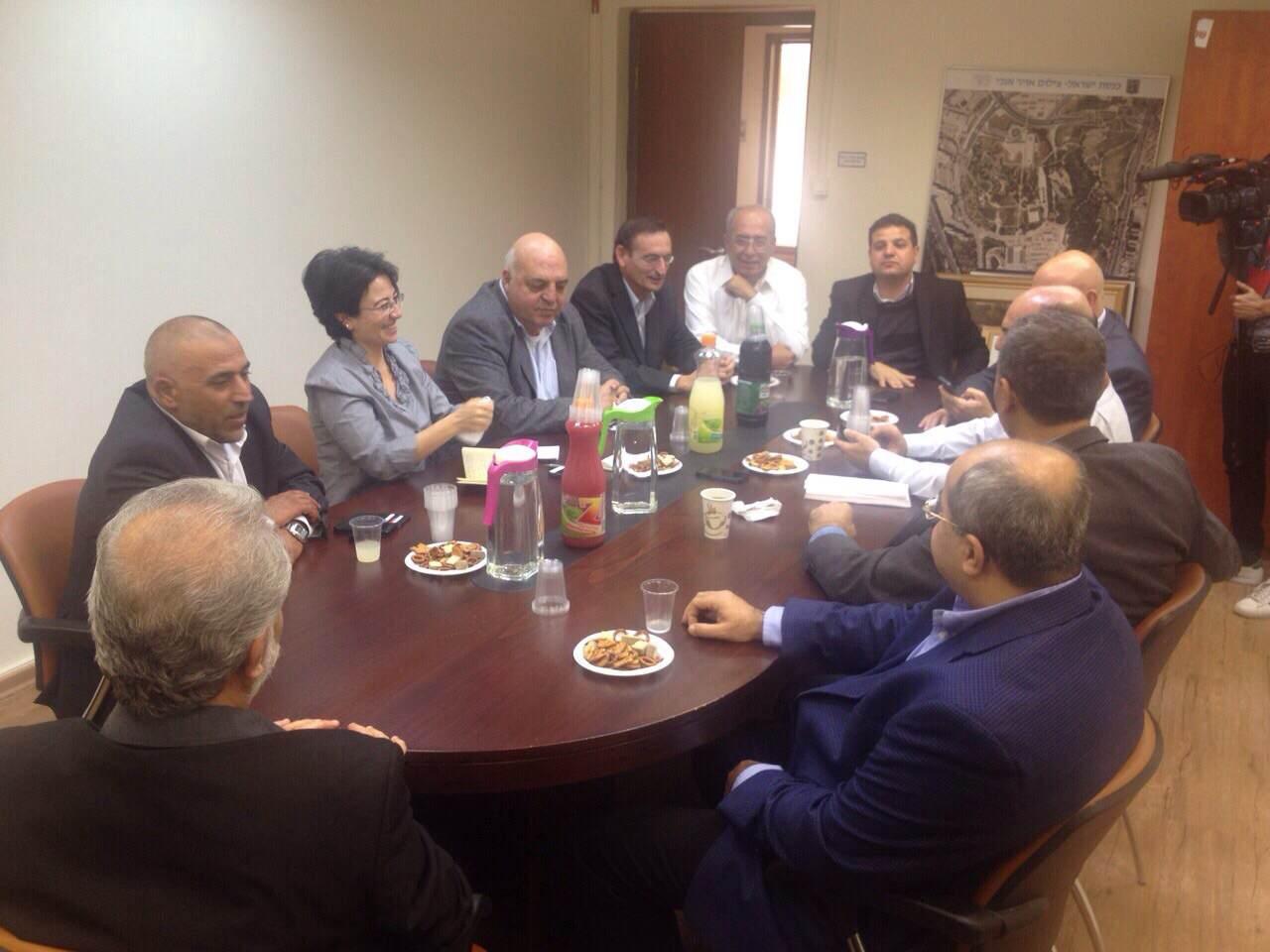 """الكتل العربية الثلاث تجتمع لبحث تداعيات تقديم الانتخابات و""""قانون القومية"""""""