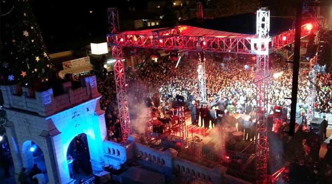 الناصرة: إضاءة شجرة الميلاد ستكون في 17/12/2014
