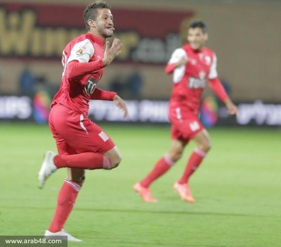 """ماذا قال لـ""""عرب 48"""" راضي وغدير بعد مباراة سخنين وتل أبيب؟"""