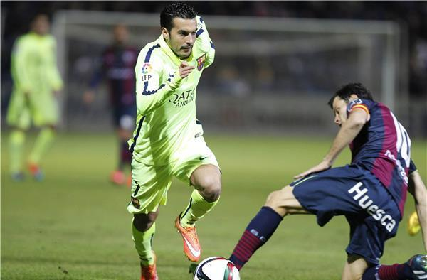 (فيديو) تأهل سهل لبرشلونة  لدور 16 بكأس الملك