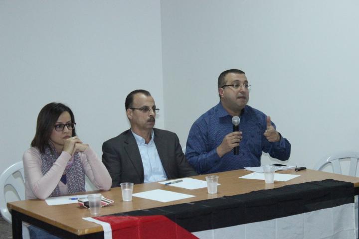 """الناصرة: التجمع يعقد ندوة بعنوان """"المجتمع العربي إلى أين"""""""