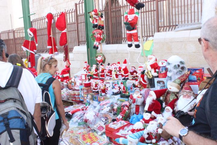 الناصرة: أوضاع اقتصادية صعبة عشية حلول عيد الميلاد (فيديو وصور)