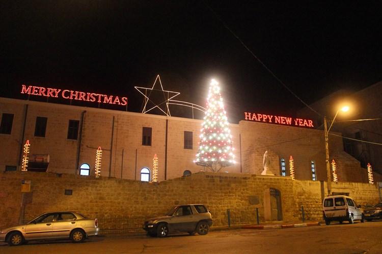 """مهرجان """"ليالي شفاعمرو الميلادية"""" لاستقبال الميلاد المجيد"""