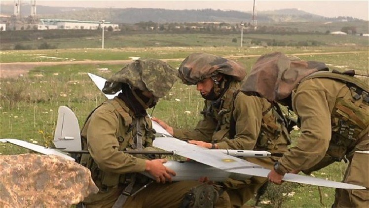 سوريا: إسقاط طائرة استطلاع إسرائيلية من دون طيار فوق محافظة القنيطرة