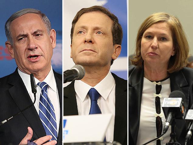 """استطلاع:  """"المعسكر الصهيوني"""" لا زال متفوقا على """"الليكود"""""""
