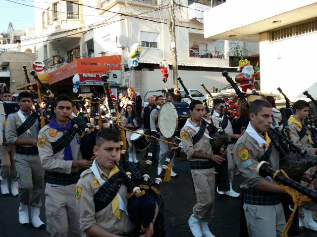 الآلاف في مسيرة العيد في الناصرة