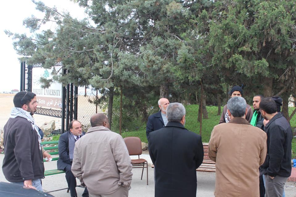 حراك في الجامعات الفلسطينية رفضا للاعتقال السياسي