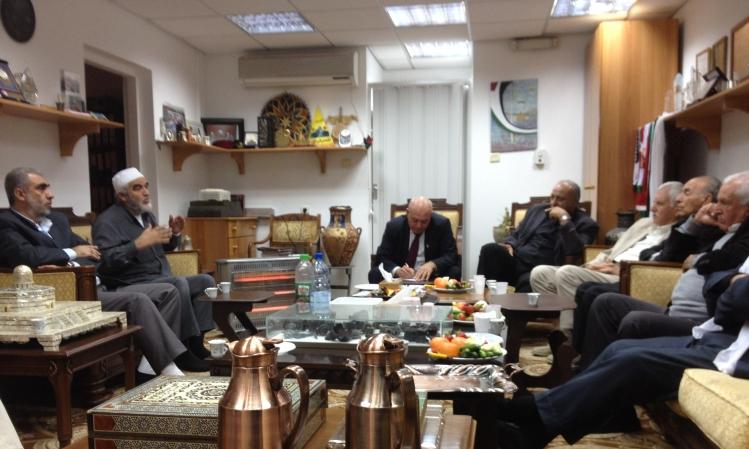 لجنة الوفاق الوطني تجتمع مع قادة الحركة الإسلامية