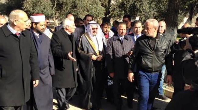 أمين عام منظمة التعاون الإسلامية يدخل الأقصى بعد رضوخ إسرائيل للضغوطات