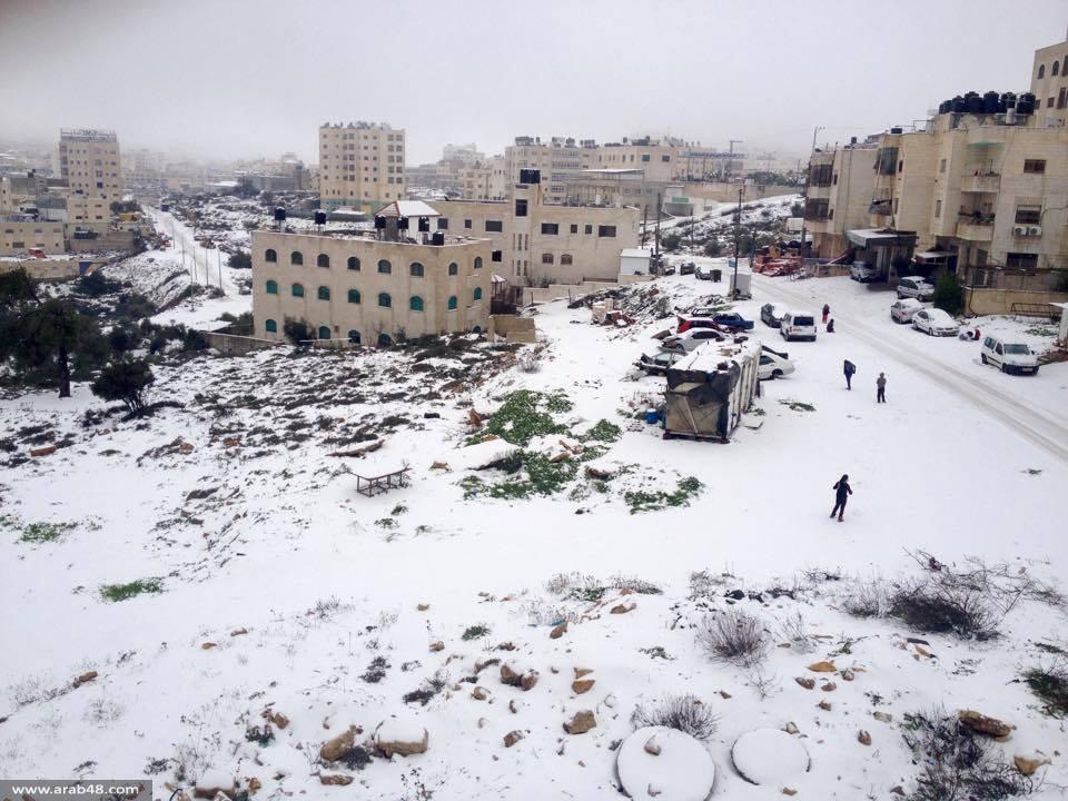 حالة الطقس: تواصل سقوط الثلوج والتحذير من الصقيع