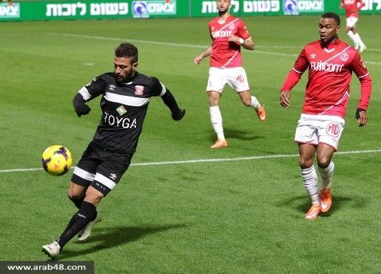 """غدير لـ""""عرب 48"""": النقطة جيدة من تل أبيب ونريد الفوز بمباراة الكأس"""