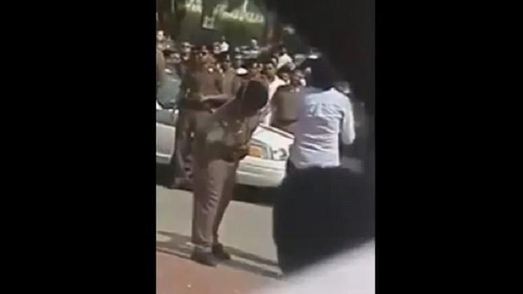 (فيديو) تنفيذ عقوبة جلد السعودي رائف بدوي