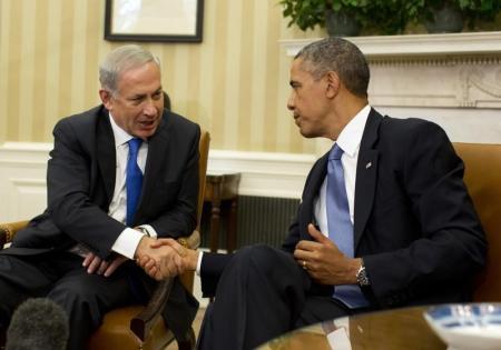 أوباما ونتنياهو يناقشان إيران وانضمام الفلسطينيين للجنائية الدولية