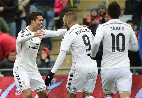 (فيديو) ريال مدريد يعود لنغمة الإنتصارات أمام ختافي