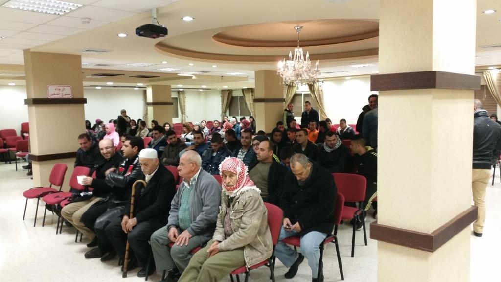 الحراك الشبابي يطلق مشروع التغيير المجتمعي في أبو سنان