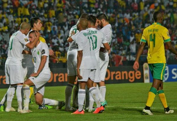 (فيديو) كأس أمم أفريقيا: فوز منتخب  الجزائر على الجنوب إفريقي 3-1