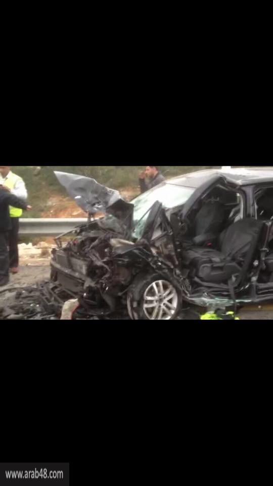 مصرع مستوطنين وإصابة فلسطينيين في حادث طرق قرب قلقيلية
