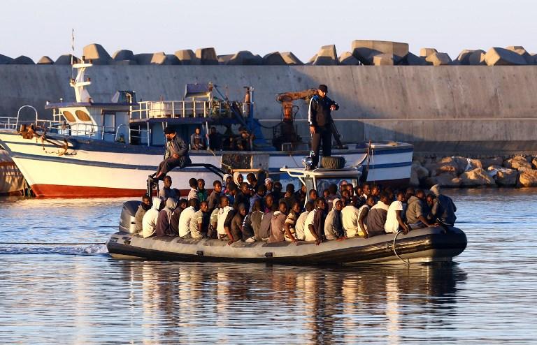 غرق ستة مهاجرين على سواحل المغرب