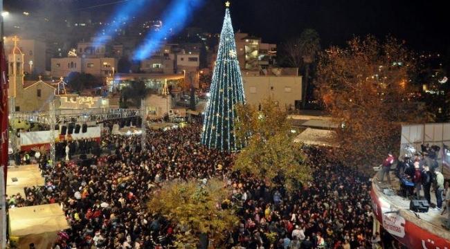 بلدية الناصرة تؤكد تمويل الكيرين كاييمت للكريسماس ماركت