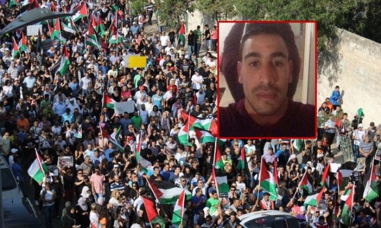 """رهط: """"ماحش"""" يستدعي 5 شرطيين للتحقيق بقتل الشهيد الجعار"""
