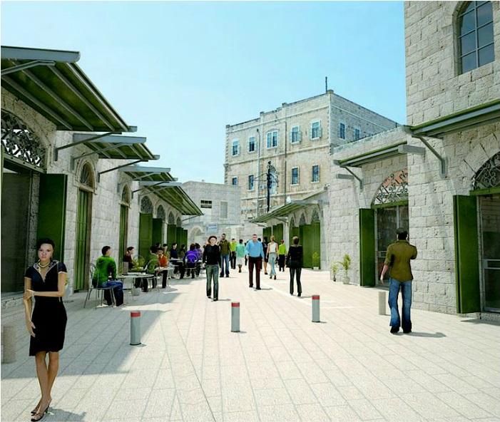 مخطط  لتهويد معالم منطقة الباب الجديد بالقدس القديمة